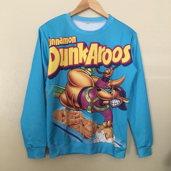 eba5f8bf6787d7 Dunkaroos 90s kid vintage sweater blue unisex S